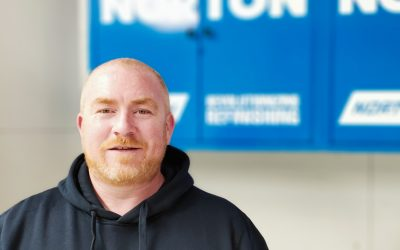 Dec McKearney announced as National Brand Ambassador for Norton Abrasives Pacific.