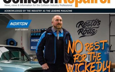 Dec McKearney features on Front Cover of Leading Industry Magazine